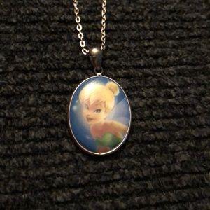Tinkerbell believe in the magic necklace
